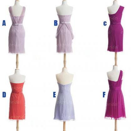 Short Bridesmaid Dresses, custom br..
