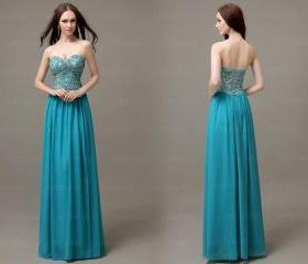 Lace prom dresses, t..