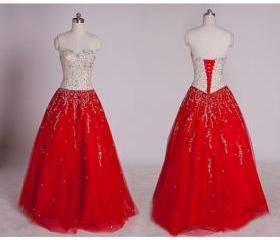 red prom dresses, re..