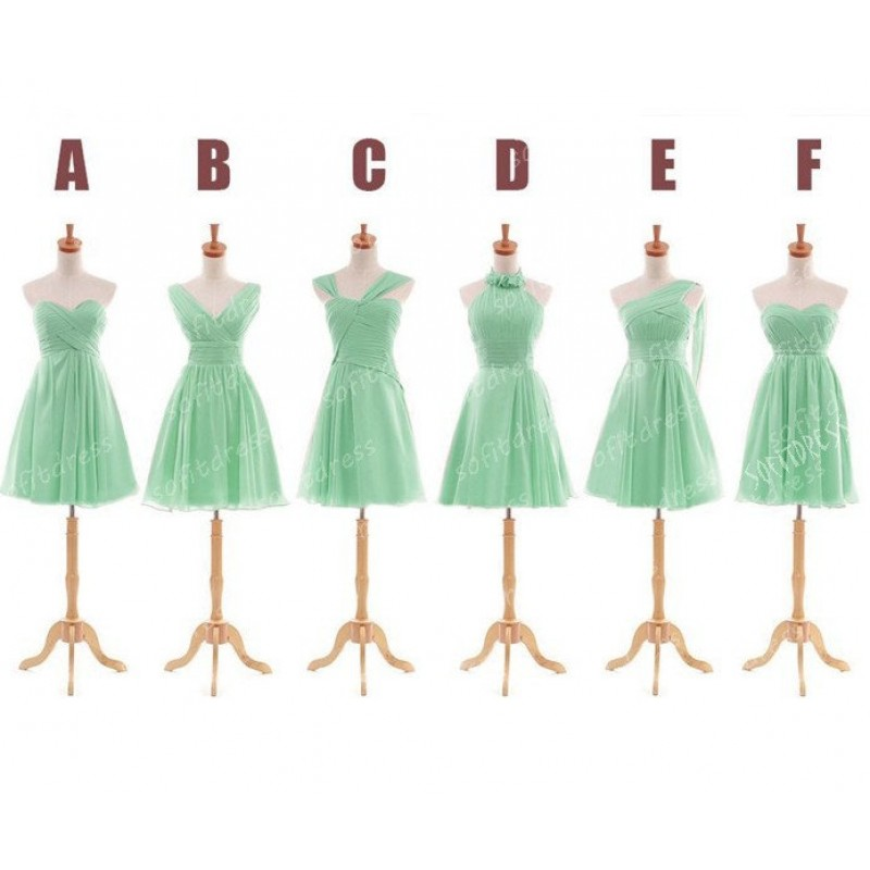 445c0c800e544 mint Bridesmaid Dresses, Mismatched Bridesmaid Dresses, short Bridesmaid  Dresses, Inexpensive Bridesmaid Dresses,