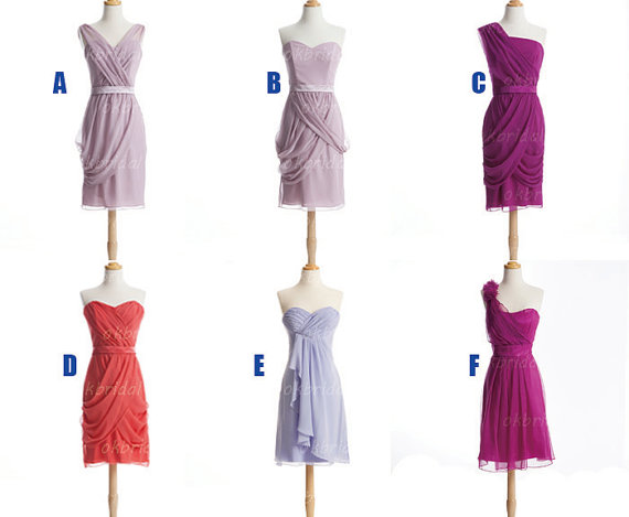 Short Bridesmaid Dresses, custom bridesmaid dresses, affordable Bridesmaid Dresses, chiffon Bridesmaid Dresses, cheap Bridesmaid Dresses, CM476
