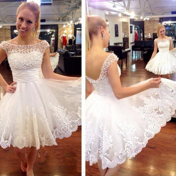 white homecoming dresses, white evening dress, short evening dress, unique prom dresses, sexy prom dresses, 2015 prom dresses, popular prom dresses, dresses for prom, CM552